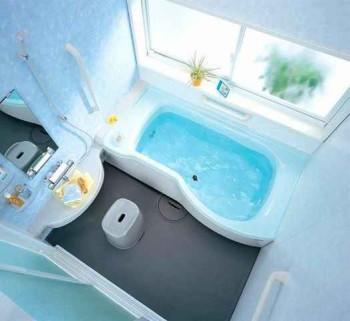 оформляем маленькую ванну в квартире