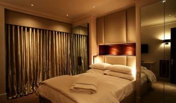 подсветка мебели в спальне