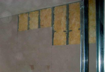 монтаж минеральной ваты на стену
