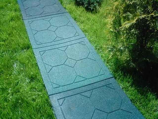 Тротуарная плитка своими руками резиновая
