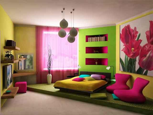 отделка стен для комнаты девочки подростка