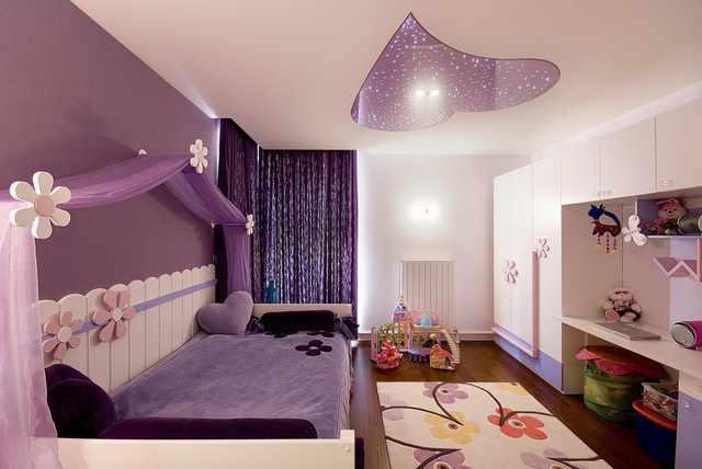 как организовать освещение в детской комнате