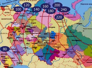 региональное промерзание грунта