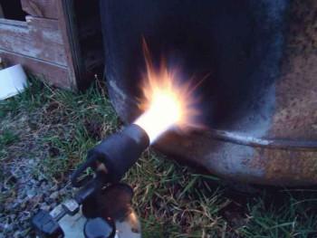 эксплуатация газовой горелки