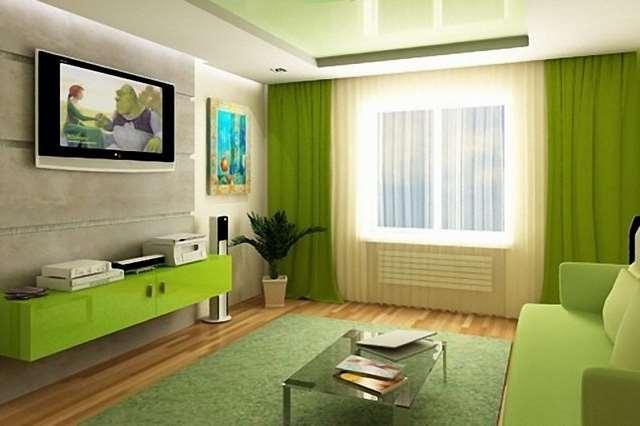 описание цветовой гаммы в интерьере гостиной
