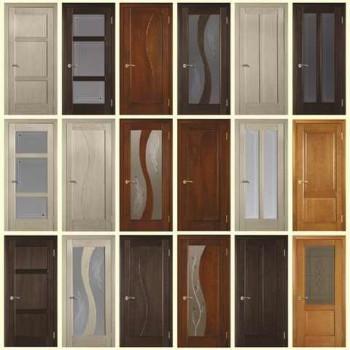 виды шпона для дверей