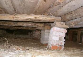 подведение на бетонный фундамент