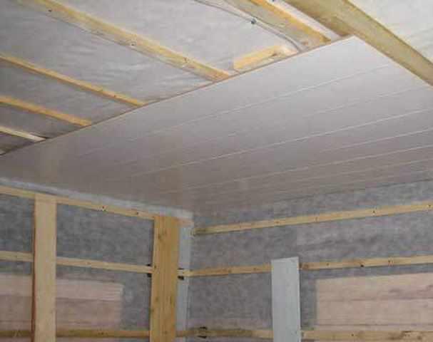 Панели мдф: инструкция как обшить потолок своими руками, вар.