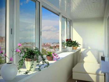 раздвижные окна на лоджию