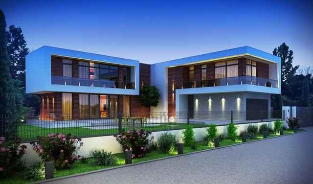 купить дом с плоской крышей